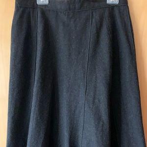 Harve  Bernard Wool Skirt